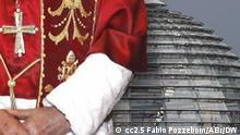 Symbolbild Papst Bundestag