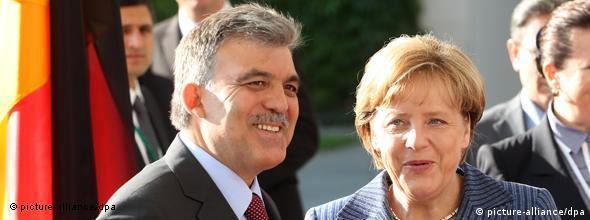 Abdullah Gül und Angela Merkel Besuch in Berlin NO FLASH