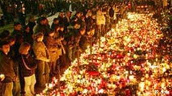 Trauer um Papst Johannnes Paul II. in Polen