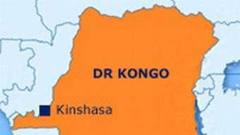 Karte Demokratische Republik Kongo (Grafik: DW)