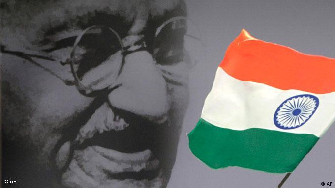 Gandhi stood for non-violent resistance, peace and equal rights