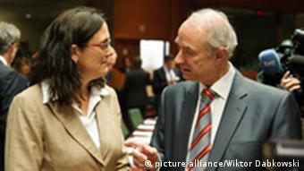 Nizozemski ministar Leers i europska povjerenica Cecilia Malmstrom