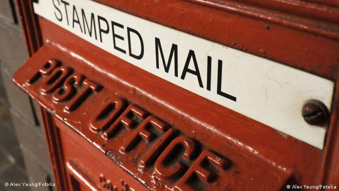 Flash-Galerie Symbolbild Briefkasten