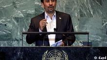 Mahmud Ahmadinedschad UNO 2011