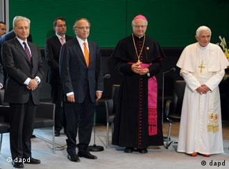 Бенедикт XVI на встрече с представителями еврейских общин