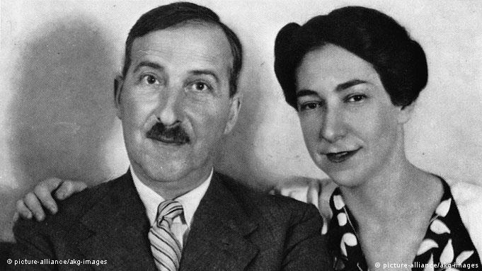 Stefan Zweig and Lotte Altmann in 1938