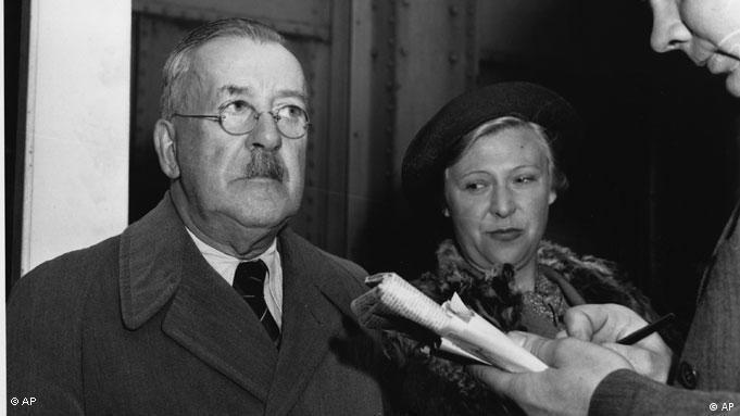 Heinrich Mann und seine Frau Nelly in Hoboken 1940 (Foto: AP Photo)