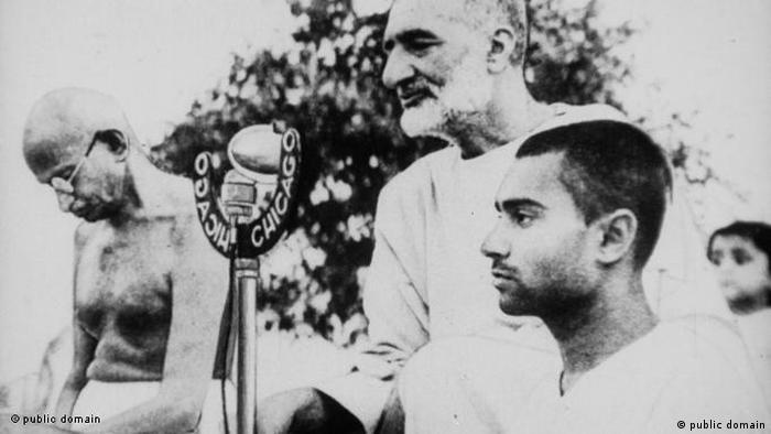 Indien Khan Abdul Ghaffar Khan Mahatma Gandhi Flash-Galerie (public domain)