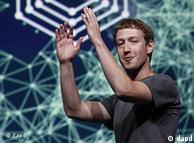 مارک زوکربرگ، رئیس فیسبوک در نشست خبری روز پنجشبه در سانفرانسیسکو