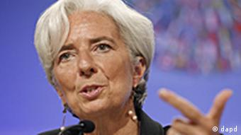 USA Währungsfond Christine Lagarde in Washington