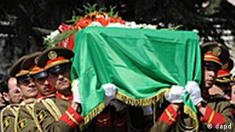 Former Afghan president Burhanuddin Rabbani was recently burried after his assassination