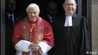 Бенедикт XVI и Николаус Шнайдер