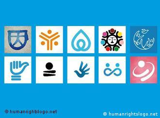 The 10 finalists of the human rights logo competition