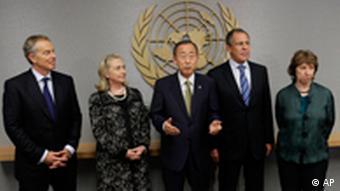 Nahostquartett bespricht Antrag der Palästinenser auf Autonomie