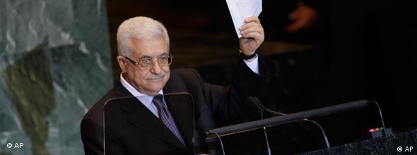Palästinenserpräsident Mahmud Abbas (Foto: AP)
