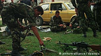 Bosnien Soldaten Bosnienkrieg