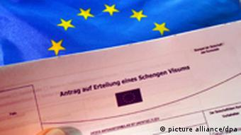 A Schengen visa