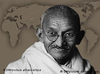 The endearing name Mahatma means 'great soul'