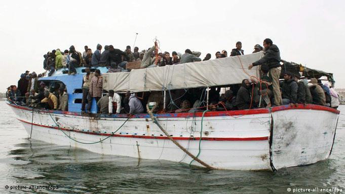 Überfahrt Mittelmeer Zustände an Bord der Schiffe Überfüllung Flash-Galerie