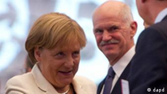 Angela Merkel Georgios Papandreou BDI