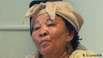 Namibian parliamentarian Ida Hoffmann