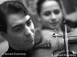 Violinist Geza Hosszu-Legocky