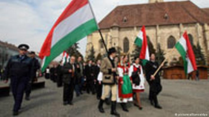 Szekler Hungarians in Cluj-Napoca, Romania