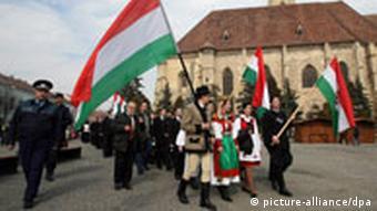 Rumänien Ungarn Minderheit Szekler (picture-alliance/dpa)