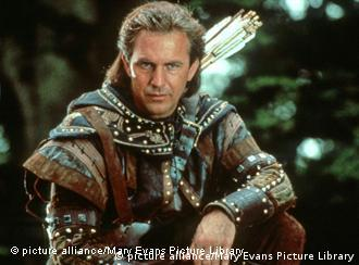 Kevin Costner als Robin Hood (Foto: Mary Evans Picture Library)