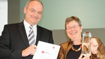 Dr. Sibylle Plogstedt, Andreas Tyrock (Foto: SI)