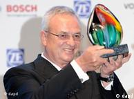 Martin Winterkorn recebeu prêmio no Brasil