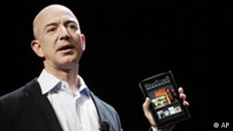 Jeff Bezos Amazon Kindle Fire