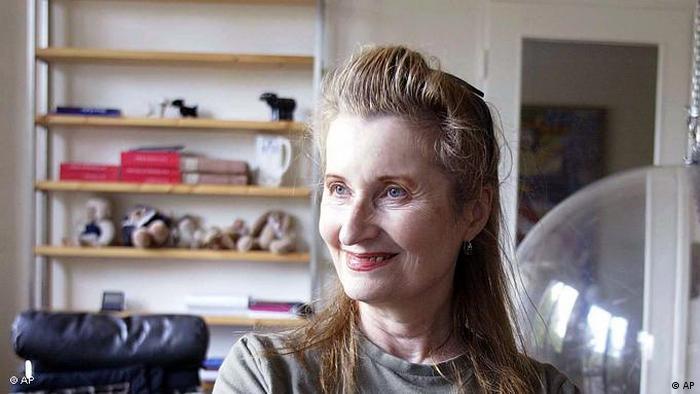 Elfriede Jelinek, autora austríaca.
