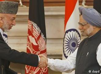 حامد کرزی روابط نزدیکی با هندوستان دارد.