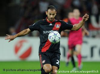 Ömer Toprak, defensor central del Leverkusen.