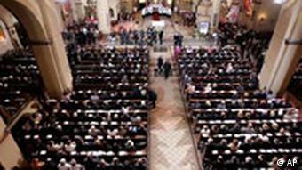 Papst Trauergottesdienst in Berlin