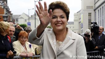 Porträt von Dilma Rousseff (Foto: BELGA PHOTO BENOIT DOPPAGNE)