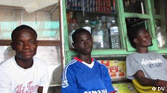 Jugendliche in Monrovia