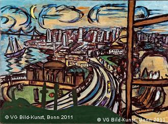 'São Francisco': óleo sobre tela