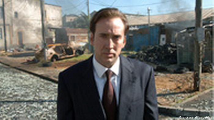 Schauspieler Nicolas Cage in Lord of War