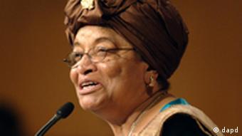 الن جانسون سیرلیف، رئیسجمهور لیبریا