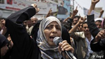 توکل کرمان، فعال سیاسی و چهره سرشناس جنبش اعتراضی یمن