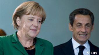 Angela Merkel und Nicolas Sarkozy in Berlin
