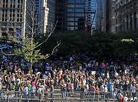 اعتراضها در نیویورک با شعار