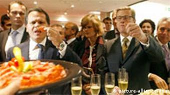 Anuga'nın açılışını bu yıl Almanya Dışişleri Bakanı Guido Westerwelle (sağda) yaptı.