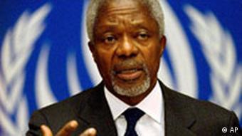 Kofi Annan in der Schweiz