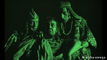 O ator Emil Jannings como o Faraó Amen