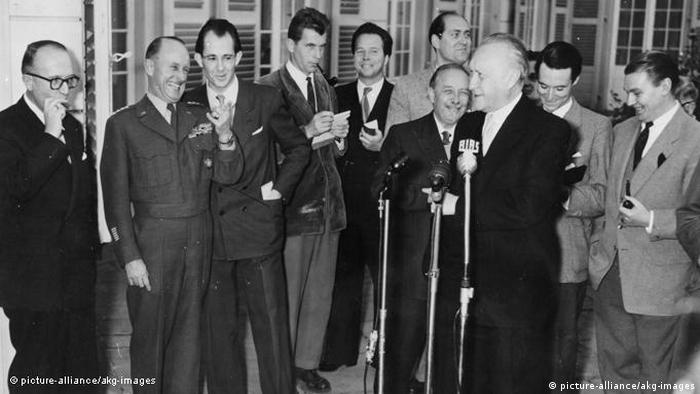 Adenauer in 1953
