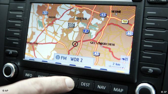 Навигационная система для автомобиля