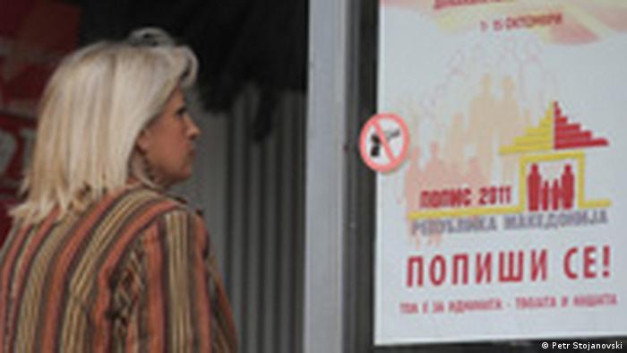 Mazedonien Zensus Statistisches Amt
